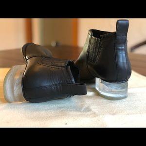 Alexander wang Kori boots with lucite heel
